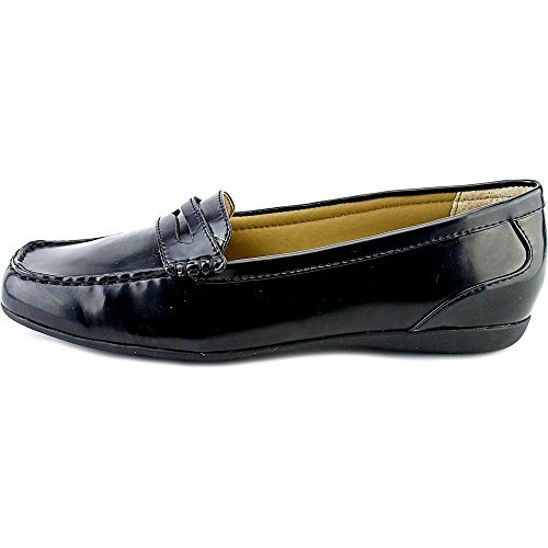 (Trotters Womens Francie Closed Toe Loafers, Black Box, Size 5.5)