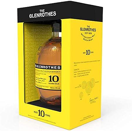 The Glenrothes Single Malt Whisky Escoces, 700ml