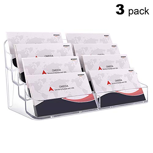 display with business card holder - 7