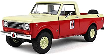 Amazon Com 1979 International Scout Terra Pickup Truck Ih Dealer Red 1 25 By First Gear 40 0318 Toys Games