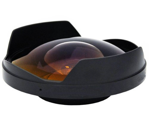 0.3x High Grade Fish-Eye Lens For The Canon XA20 by Digital Nc
