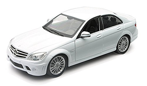 New Ray Mercedes Benz White 1:24 scale die-cast - Ray Benz