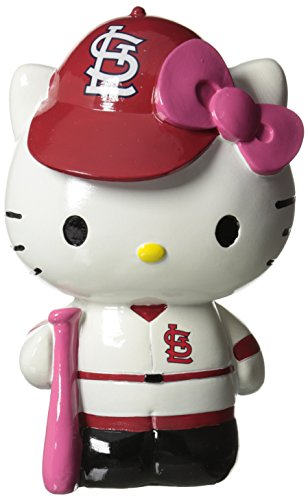 St. Louis Cardinals Hello Kitty Resin Bank