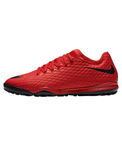 Nike Hypervenom MX Finale II TF Talla 42, Color Rojo, Negro