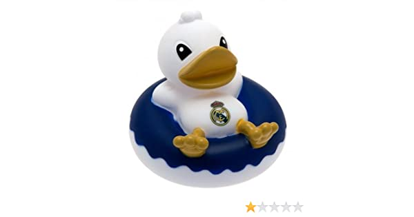 Real Madrid F.C. - Patito de goma para la bañera, diseño del ...