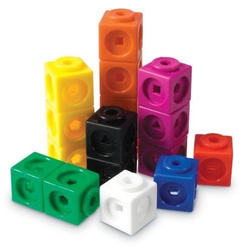 Stkertools Learning Resources Mathlink Cubes-100 , New