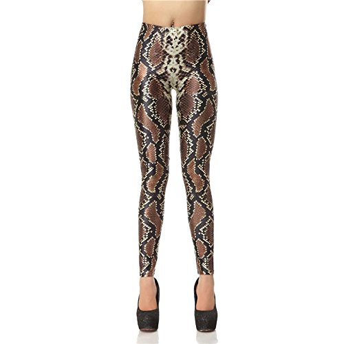 Leggins de serpiente