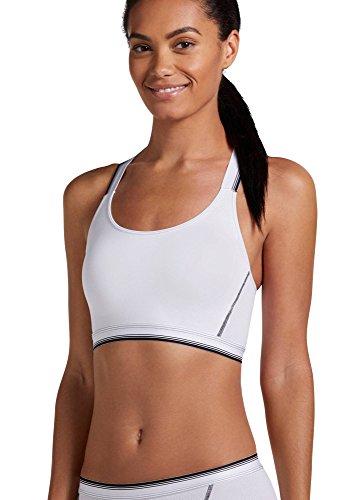 - Jockey Women's Bras Sporties Mesh Bralette, White, XL