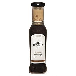 SPICY KOREAN BBQ MARINADE & SAUCE by Wild Thymes Farm, 10oz