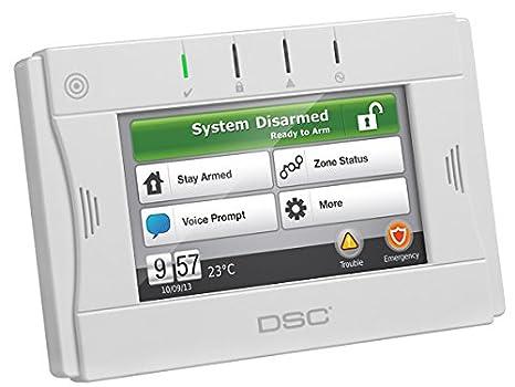 amazon com dsc wtk5504 alarm wireless touch screen camera photo rh amazon com DSC Alarm Trouble Light Panel dsc power series 433mhz manual
