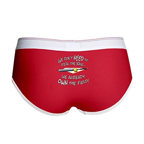 Boy Brief - Women's Boy Brief, Boyshort Panty Underwear Novelty Design ()