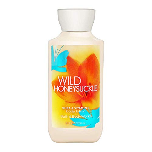 (Bath and Body Works Signature Collection Wild Honeysuckle Body Lotion 8 Fl Oz)