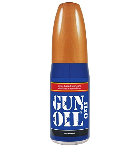 (Gun Oil H2O Water Based Based Personal Lube Lubricant Ultra-concentrated: Net Wt. 2 Ounce or 59 Milliliter)
