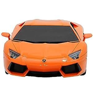 RW 1/24 Scale Lamborghini Aventador LP 700-4 RC Radio Remote Control Car(Orange) by RW
