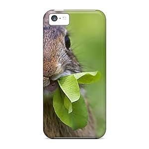 New Design Shatterproof Eel54zSUW Case For Iphone 5c (cute Rabbit)