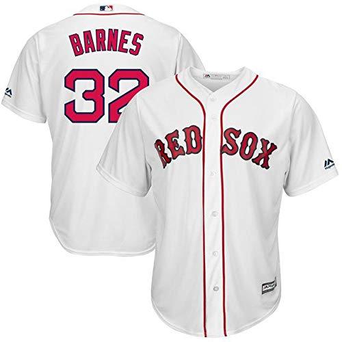 Majestic Majestic B07GFSZZ5D Matt Barnes Boston Replica Red Sox White Home Home Cool Base Replica Player Jersey スポーツ用品【並行輸入品】 4XL B07GFSZZ5D, 住設倶楽部:bdc7c7bf --- cgt-tbc.fr