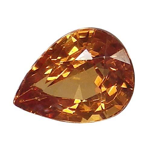 0.79 Ct. Natural Pear Orange Spessartine Garnet Loose Gemstone