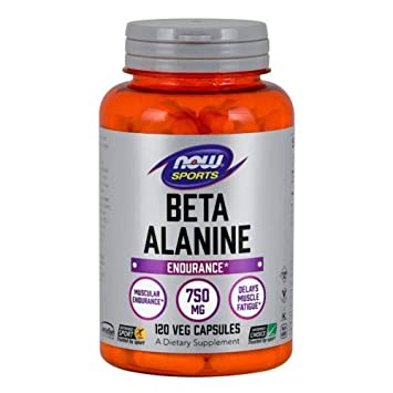 Now Foods Beta-Alanine – 120 Capsules Pack of 2
