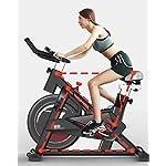 ZAIHW-Cyclette-Coperta-Spin-Bike-Cycling-Trainer-Cyclette-Cinghia-di-Trasmissione-Bici-comodita-Posto-a-Sedere-dellammortizzatore-for-la-casa-Cardio-Gym