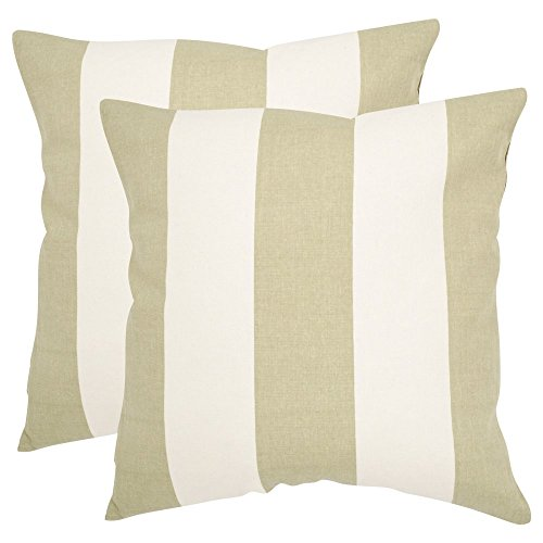 Safavieh Pillows Collection Sally Decorative Pillow, 22-Inch