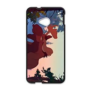 HTC One M7 Phone Case Black Brother Bear 2 Kata DXW6759125