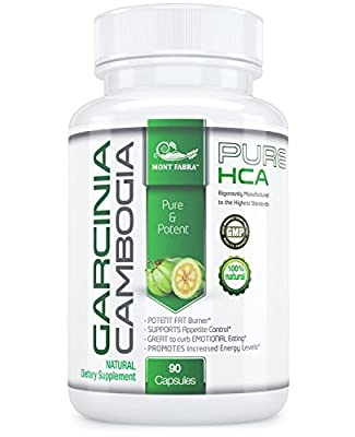 MONT FABRA 100% HCA GARCINIA CAMBOGIA 1 Month Supply * HIGHEST PROVEN HCA* MORE than 95%HCA - EFFECTIVE Weight Loss & APPETITE SUPPRESSANT, SAME DAY SHIPPING 45 DAYS RETURN