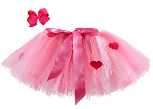 Tutu Dreams Pink Hearts Valentines Day Tutu for Woman -