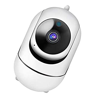 Almencla Indoor WiFi Camera Security Video Surveillance W/Motion Detection 1080P 8G