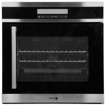 Fagor 6HA-200TRX Convection Wall Oven with Right Hinge, Touch Controls/4 Cooking Programs, 24-Inch by Fagor