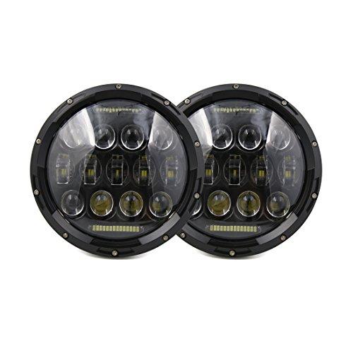 jeep wrangler headlight bulbs - 8