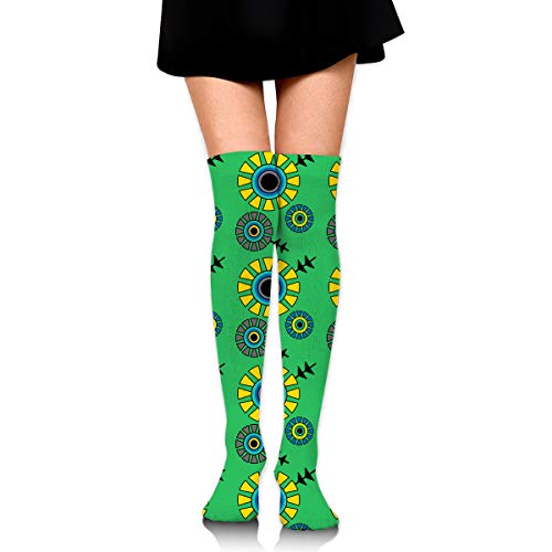 Jigsaw Puzzle Female Ladies Women Girl Teen Kid Youth Leg Tall Mid Thigh High Knee Long Tube Over The Knee Stocking Costume Gifts Clothes Dresses Apparel Thy Thi Hi -