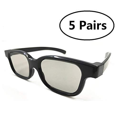 IN THE DISTANCE 5 Pares De Gafas 3D Pasivas Universales para Todos ...
