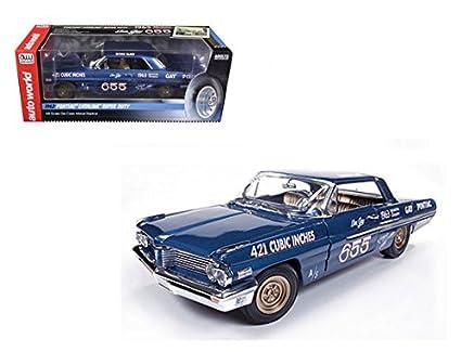 Don Auto World >> Amazon Com Auto World 1 18 1962 Pontiac Catalina Super Duty