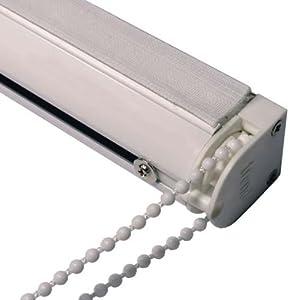 Roman Blind Kit 67 Cm Cassette Headrail Chain Sidewinder
