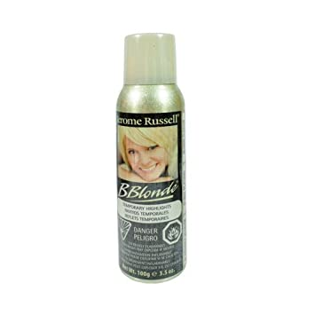 jerome russell b blonde spray temporary highlight spray platinum blonde