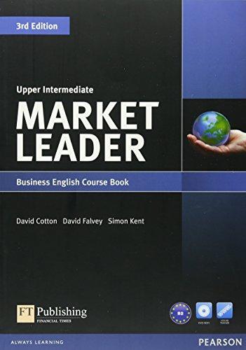 Market Leader Upper Intermediate Course Book with DVD-ROM (Leader Level Market)