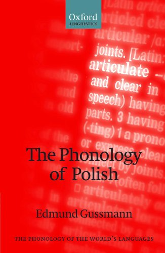The Phonology of Polish (The Phonology of the World's Languages) Pdf