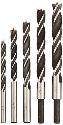 Bosch B14616 5-Piece Brad Point Drill Bit ()