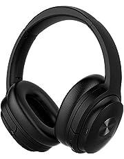 cowin SE7 Casque Bluetooth 5.0 Réduction de Bruit Active sans Fil Micro Intégré/Aptx Casque Pliable 30 Heures d'Autonomie pour Le Travail/Le Voyage-Noir