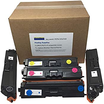 2PK TN315 TN-315 CYAN Toner Cartridge for  Printer