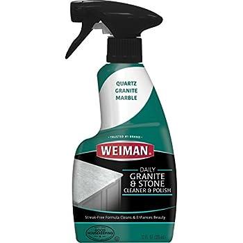 Amazon Com Weiman Granite Cleaner Polish And Sealer Kit