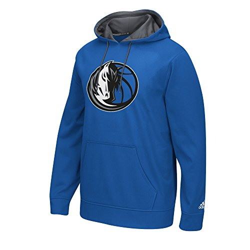 Adidas Dallas Mavericks Sweatshirt (adidas NBA Dallas Mavericks Men's Tip-Off Playbook Hoodie, Small, Blue)