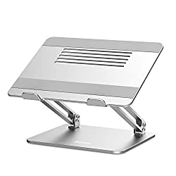 Incredibly Strong There is no double that this laptop riser is very stable because its rubber feet and pads on the bottom and top of the stand make it won't scratch your precious laptop, and it also provides sufficient grip on slippery surfaces. It's...