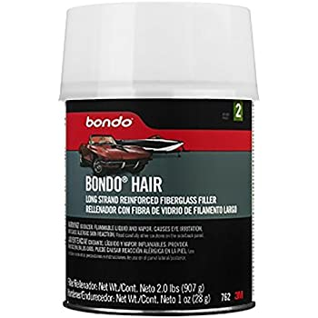 Bondo Bondo-Hair Long Strand Fiberglass Reinforced Filler, 00762, 1 Quart