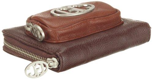 Poodlebags GERMAN COUTURE - move&feel - cash small 3GC0812CASSM, Damen Portemonnaies, Braun (mocca), 13x10x14 cm (B x H x T) Braun (Mocca)