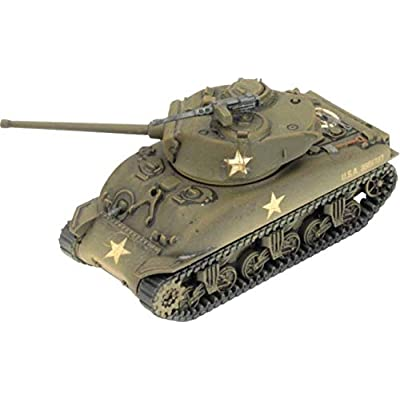Flames of War: Late War: United States: M4 Sherman Tank Platoon (UBX69): Toys & Games