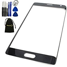 Mencia Screen Glass Lens Replacement For Samsung Galaxy Note Edge N915A N915T N915VZ With Openning Tools