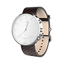 [Elephone Official Store] Elephone ELE W2 Smart Watch Bluetooth 4.0 Swiss Ronda Movement Remote Camera for Smartphone (Silver)