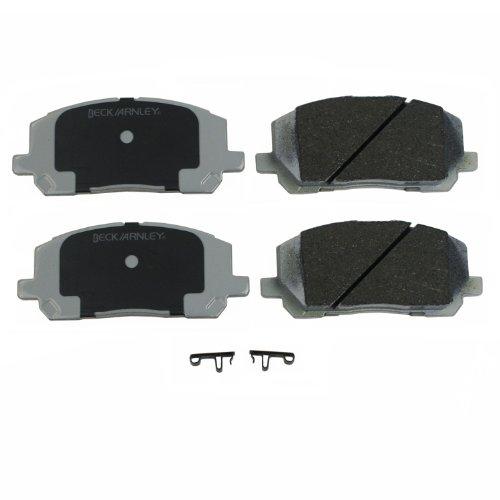 Beck Arnley 085-1658 Premium ASM Brake Pad