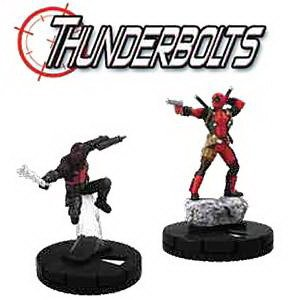 Marvel HeroClix: Deadpool Thunderbolts Fast Forces Packの商品画像